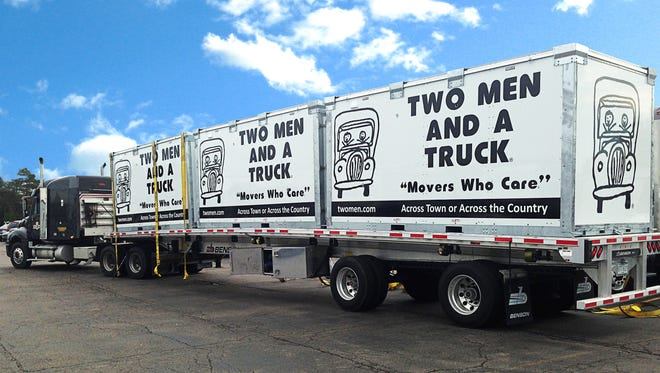 Family-owned Two Men and a Truck, founded and headquartered in Lansing, sold to Atlanta firm