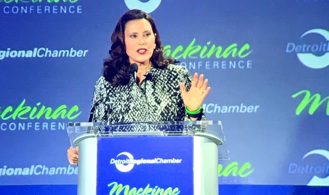 Michigan Gov. Whitmer asks business leaders to oppose new voting 'barriers'