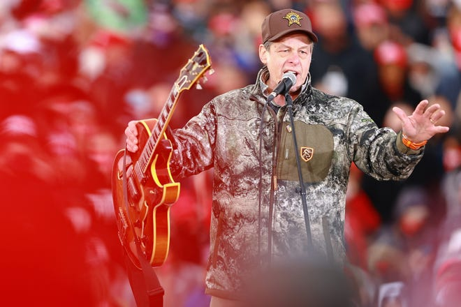 Ted Nugent endorses Michigan State Police captain for governor