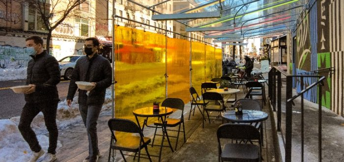 National Restaurant Association urges mayors to support expanded outdoor dining through winter