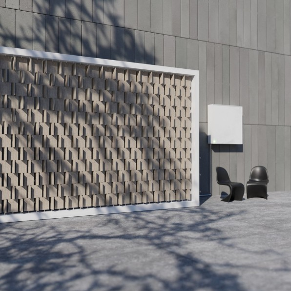 This ingenious wall could harness enough wind power to cover your electric bill