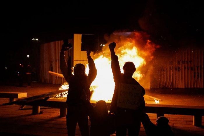 Protest Against Macron's Security Law Turns Violent in Paris