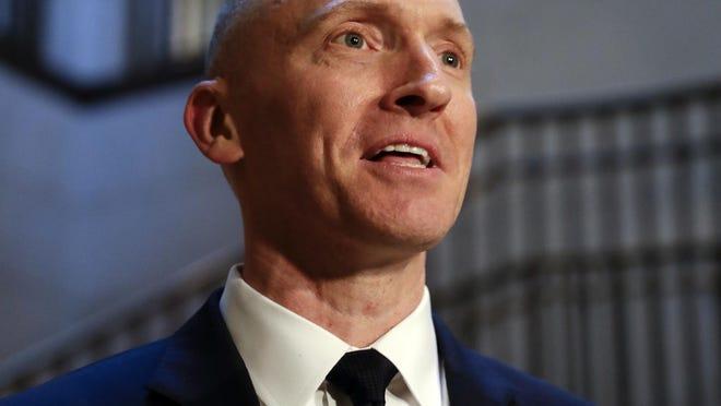 Ex-Trump campaign aide Carter Page sues FBI over 'unlawful' Russia probe surveillance