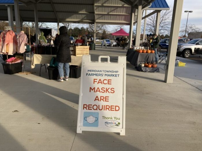 Michigan farmers markets adjust to the pandemic