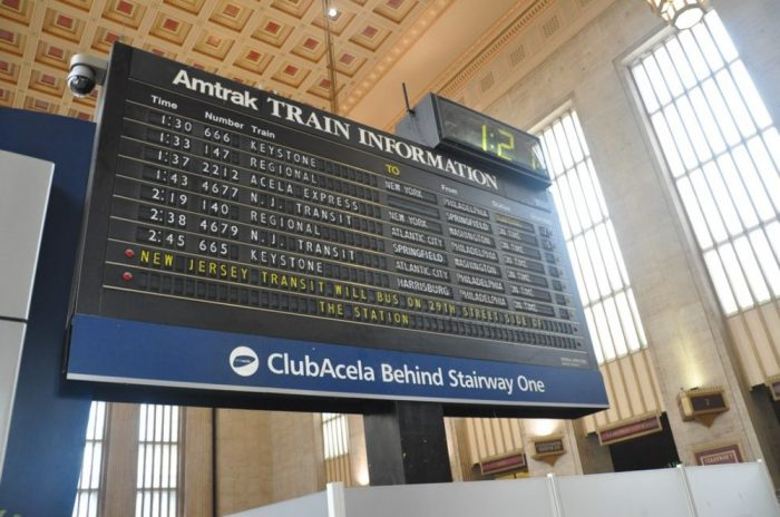 Farewell to the Clickety-Clack of Philadelphia's Train Station Display Board