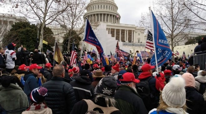 Feds arrest Michigan man they say joined Capitol insurrection