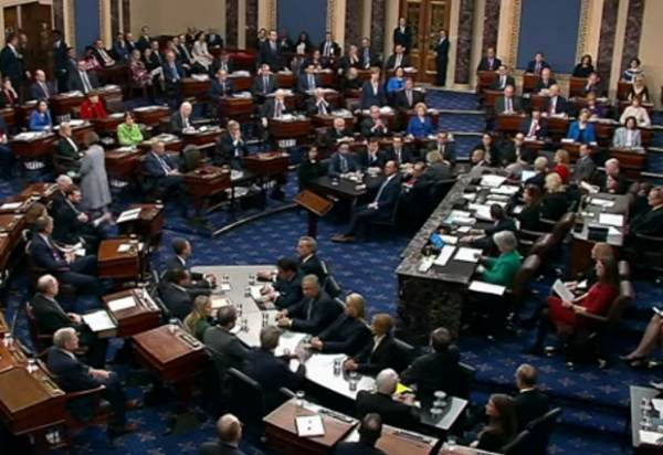 BREAKING: Senate Votes 55-45 to Set Aside Rand Paul's Point of Order That Impeachment Unconstitutional – 5 Republicans Vote with Democrats