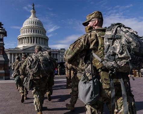 Hundreds of Active Duty Troops Along with 25,000 National Guard Troops are Authorized for Biden's Virtual Inauguration Event