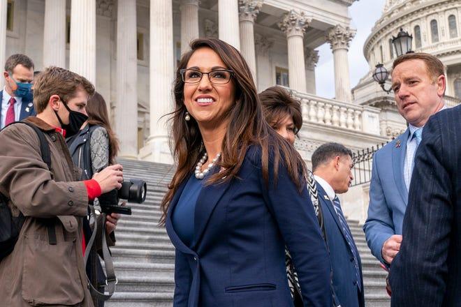 Republican Lauren Boebert sued after blocking critic on Twitter