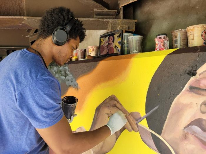 Waleed Johnson Emphasizes Visibility Of People Of Color In Art   Lansing ArtPath Profiles