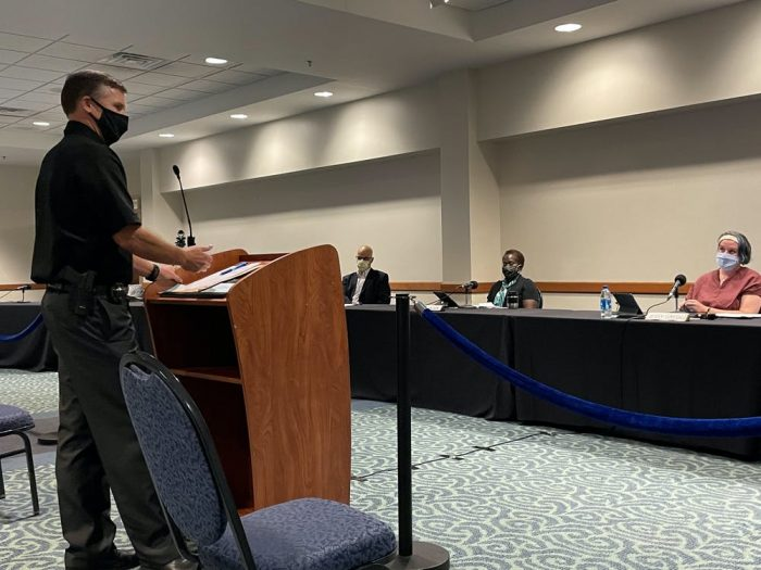 New felony firearm policy mounts tension at city council meeting