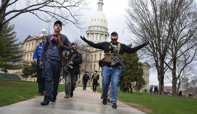 Michigan Capitol braces for first gun rights rally since open carry ban inside