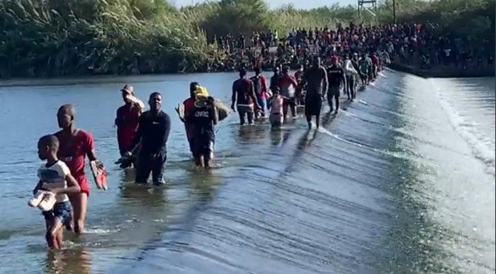 UPDATE: Thousands of Migrants Still Crossing Rio Grande into Del Rio, Texas; Camp Now Holds 12,000; FAA Grants Fox News Drone Permit