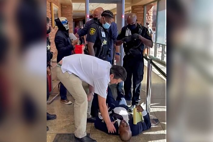BREAKING: Nevada Republican Candidate for Lt. Governor Mack Miller Assaulted by Police and Dragged from Clark County Commissioner's Meeting