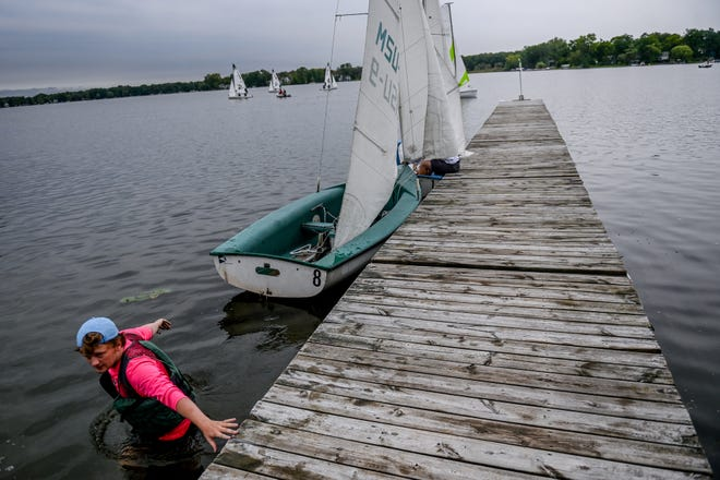 MSU Sailing Center has an accessibility problem. Staff need $50K to fix it