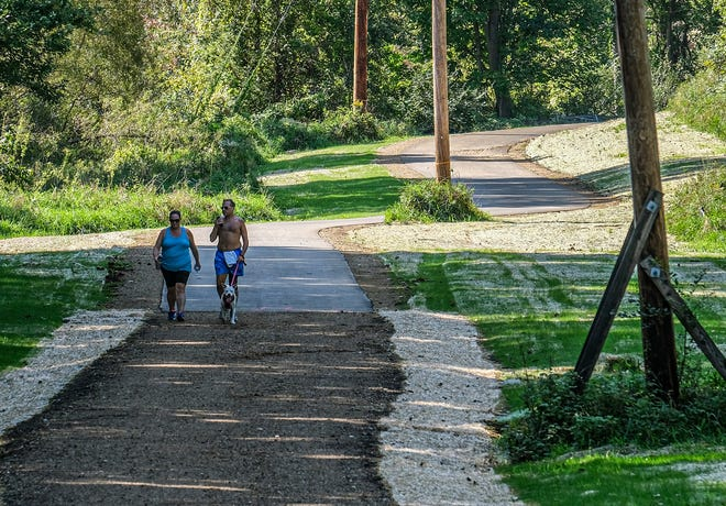 New segment of Lansing River Trail officially open in Forest View neighborhood
