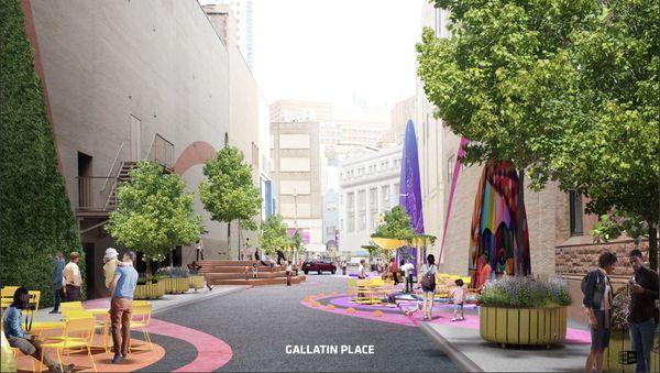 Downtown Brooklyn's Greener, Car-Free Future Is Taking Root