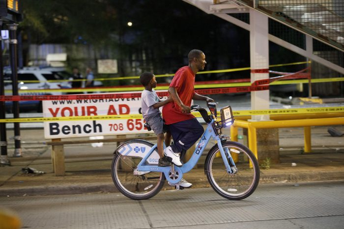 In Chicago, cyclists in Black neighborhoods are over-policed and under-protected