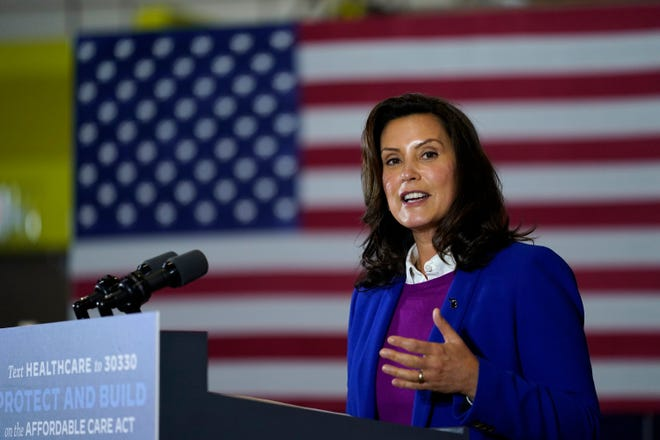Gov. Whitmer skips Virginia campaign event after GOP criticism