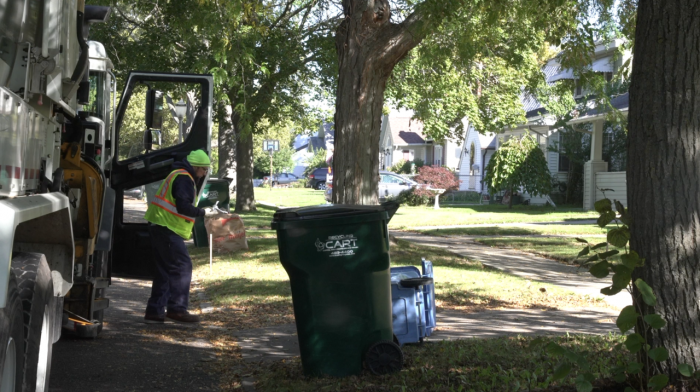Many big apartment complexes in Lansing don't offer recycling. Some in the city want to change that.